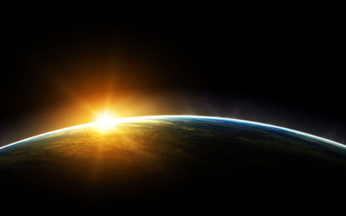 Sunrise over Earth